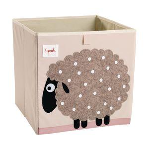 Infant/Toddler Animal Storage Bin Sheep Design