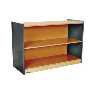 "Environments® 24"" Forest Wood Straight Shelf - Gray"