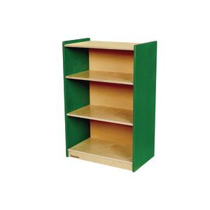 "Environments® 36"" Forest Wood Narrow Shelf - Green"