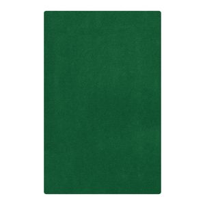 Solid Color Carpet - Dark Green, 5'10