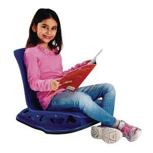 Floor Rocker Seating Cobalt Blue