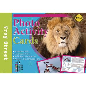 Photo Activity Cards Toddler