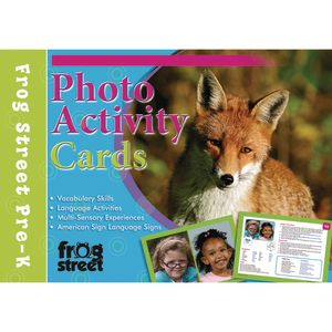 Photo Activity Cards Preschool
