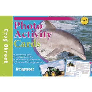 Photo Activity Cards Threes