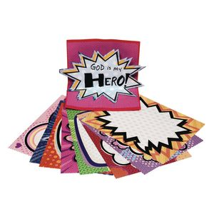 Comic Hero Craft Paper 32 Sheets