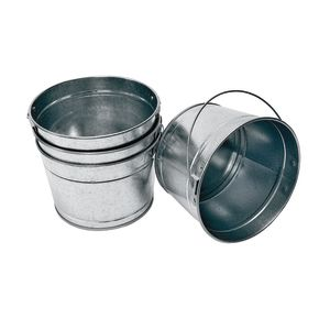 Galvanized Steel Pail - 1 Piece
