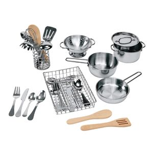 Prep & Serve Stainless-Steel Utensil Set