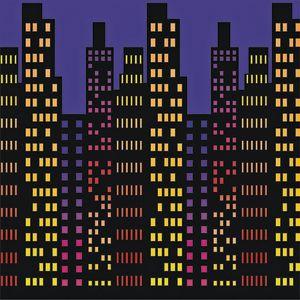 Cityscape Backdrop - 4' x 30'