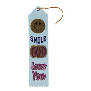 Smile, God Loves You Ribbon Set of 6