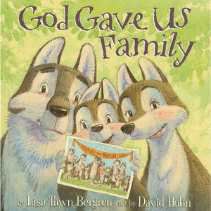 God Gave Us Family - Hardcover Book