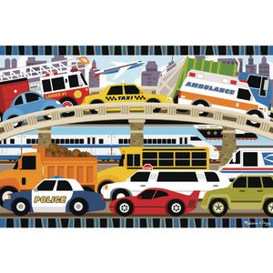 Traffic Jam Floor Puzzle 24 Pieces