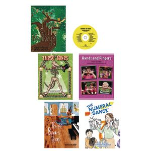 Moving To Math Pre-K Book Set Of 5 With CD