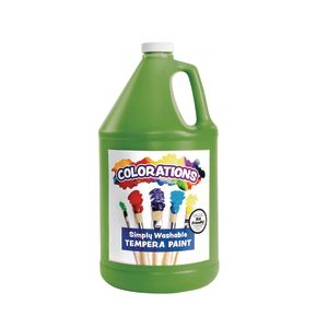 Apple Green Colorations® Simply Washable Tempera Paint 1 Gallon