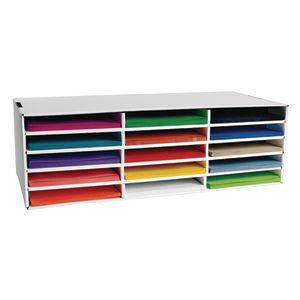 """Classroom Keepers® Storage with Top 15, 9"""" x 12"""" Heavyweight Construction Paper"""
