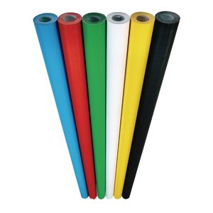 Set of 6 Top Selling colors: White, Black, Apple Green, Bright Blue, Red and Canary Yellow