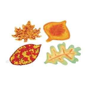 Colorations® Jumbo DYO Leaf Set of 24