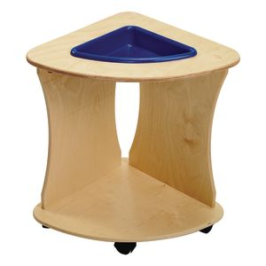 Value Line™ Birch Sensory Tables Triangle