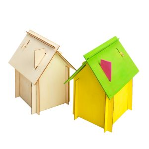Colorations® Easy Build House Set of 6