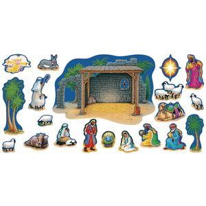 Large Nativity Decor Set 20 Pieces