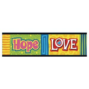 Faith, Hope, and Love Bulletin Border 35-3/4'