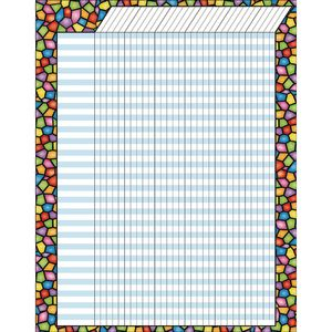 Stained-Glass Jumbo Incentive Chart