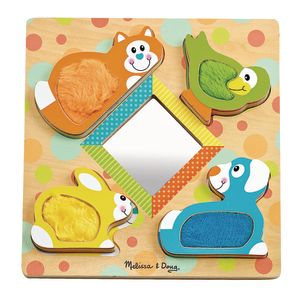 Peek-A-Boo Touch & Feel Puzzle
