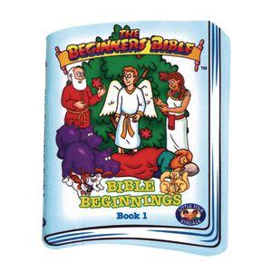 Bible Beginnings Soft Storybook #1 34 Pieces