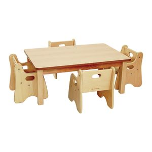 Rectangle Table & Chairs 24