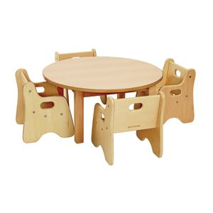 "Round Table 30"" and 4 Chairs"