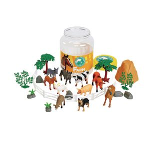 Farm Animal Bucket Set of 31 Pieces