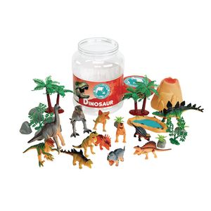 Dinosaur Bucket Set of 31 Pieces