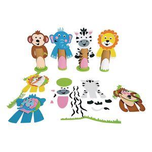 Colorations® Foam Safari Paper Roll Decorations