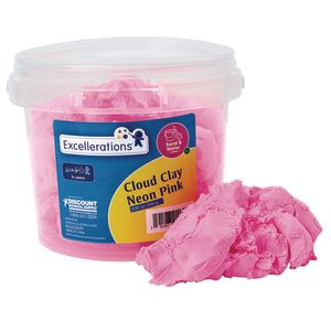 Colorations® Cloud Clay -Neon Pink