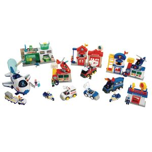 Lights & Sound Transportation Play Sets