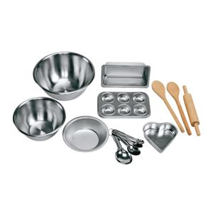 Food-Safe Stir and Bake Set 13 Pieces with Bin
