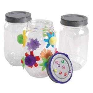 Colorations® All-Plastic Mason Jar Set of 6