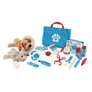 Exam and Treat Pet Vet Play Set 24 Pcs.