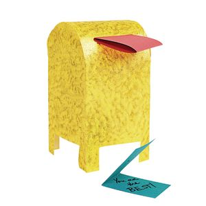 Colorations® Fun-Fold Paper Mailbox Set of 20