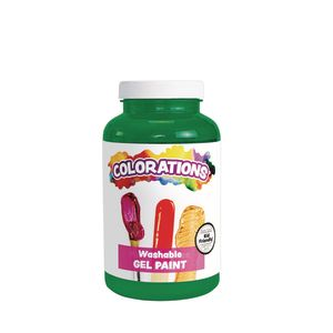 Colorations® Washable Gel Paint, Green - 16 oz.