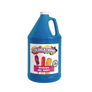 Colorations® Washable Gel Paint Gallon, Blue