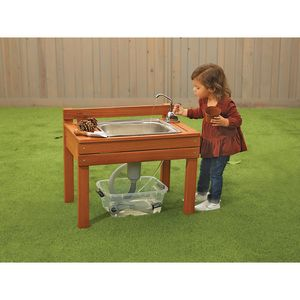 Excellerations® Outdoor Toddler Mud Kitchen