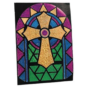 Foil Cross Craft Kit for 12