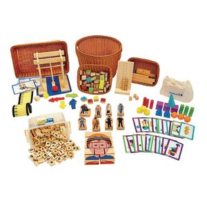 Classroom Wooden Educational Toys Set 2