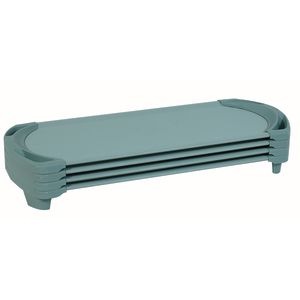 Angeles® SpaceLine® Standard Cot - Set of 4 - Teal Green