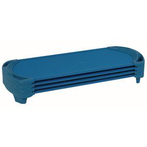 Angeles® SpaceLine® Standard Cot - Set of 4 - Blue