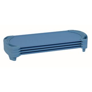 Angeles® SpaceLine® Standard Cot - Set of 4 - Wedgewood Blue