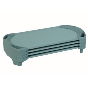 Angeles® SpaceLine® Toddler Cot - Set of 4 Teal Green