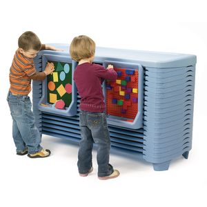 SpaceLine® Activity Center - 20 Cots - Wedgewood Blue