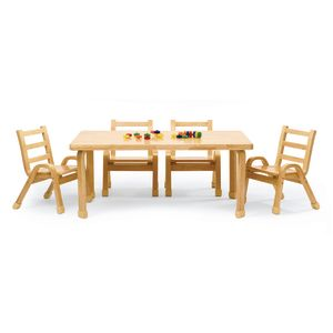 Angeles® NaturalWood™ Collection Rectangular Table 14