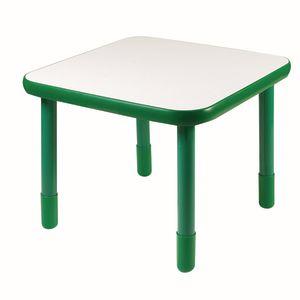 """30"""" Square BaseLine® Table, 24""""H - Green"""